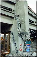 Cypress Freeway collapse in Oakland CA