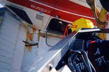 Ladder54 firefighter Rich Rees rescues pilot from the aircraft