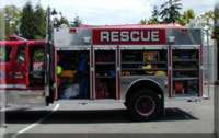 special operations rescue Truck Left